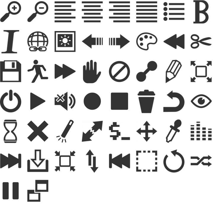 20 Symbols Fonts And Pictograms For Web Designers The Camp