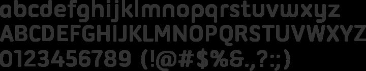 Ubuntu Titling Font Specimen