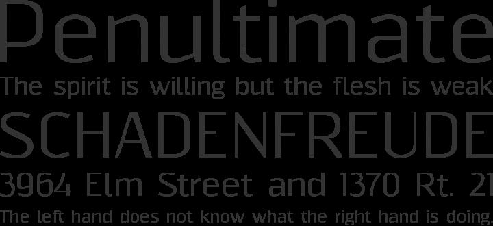 Resagnicto Font Phrases