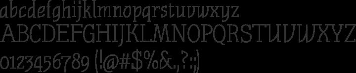 Nautik Font Specimen