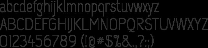 Capsuula Font Specimen