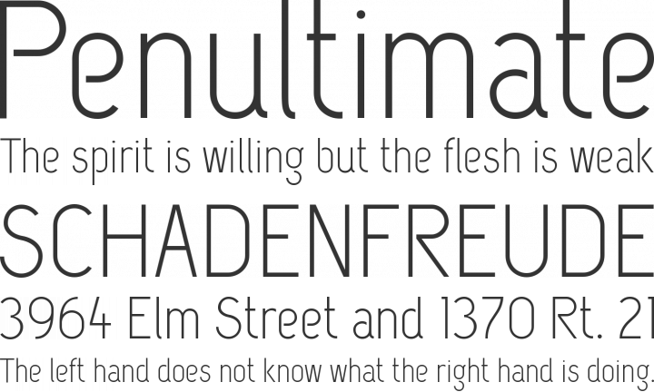 Capsuula Font Phrases