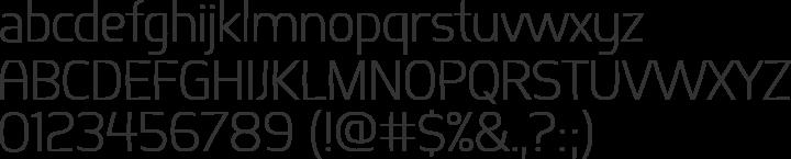 Springsteel Font Specimen