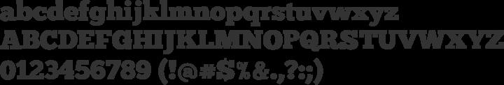 ChunkFive Font Specimen