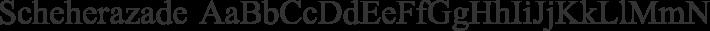 Scheherazade font family by SIL International