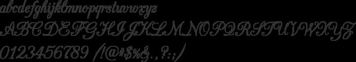 CAC Champagne Font Specimen