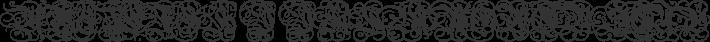 Dutch Initials font family by Paul Lloyd