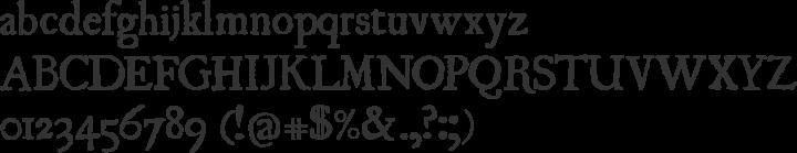 UglyQua Font Specimen