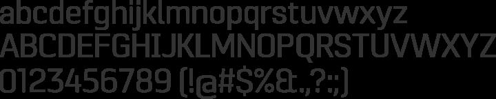 Pancetta Pro Font Specimen