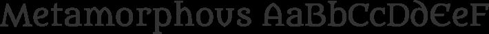 Metamorphous font family by Sorkin Type Co