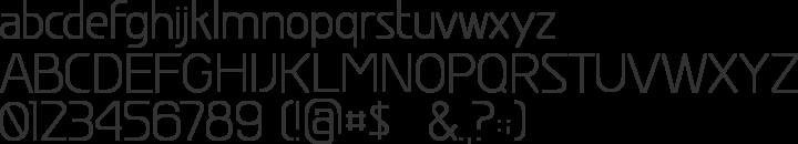 Greyscale Basic Font Specimen