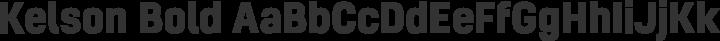 Kelson Bold free font