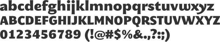 MEgalopolis Extra Font Specimen