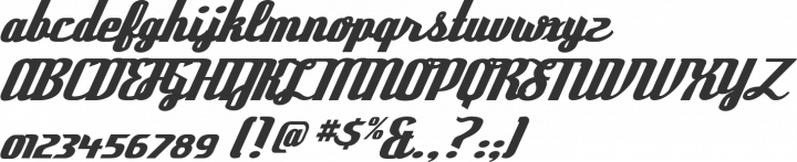 Deftone Stylus Font Specimen