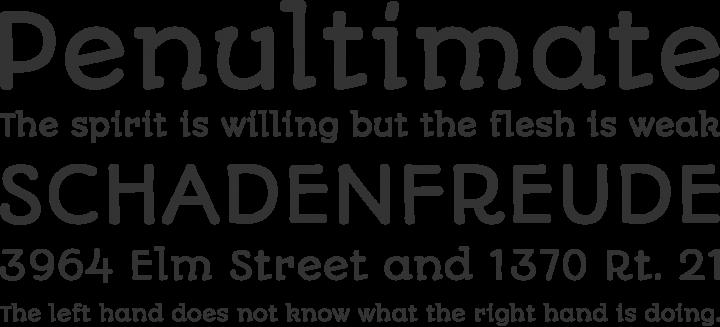Autour One Font Phrases
