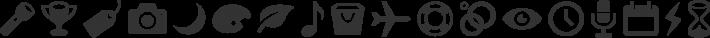 Entypo font family by Daniel Bruce