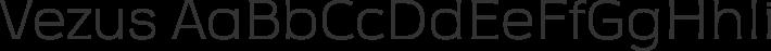 Vezus font family by Tour de Force