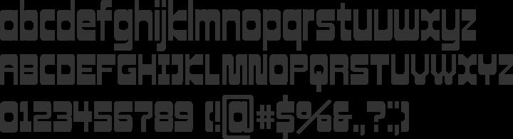 Cowboy Hippie Pro Font Specimen