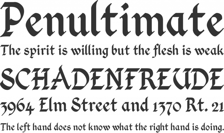 Kingthings calligraphica font free by
