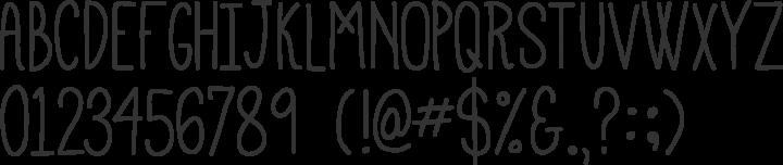 Mathlete Font Specimen