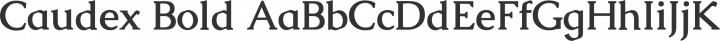 Caudex Bold free font
