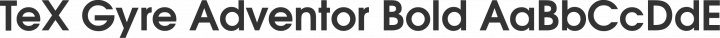TeX Gyre Adventor Bold free font