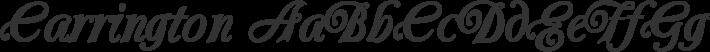 Carrington font family by Bright Ideas