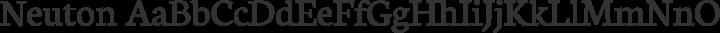 Neuton Regular free font