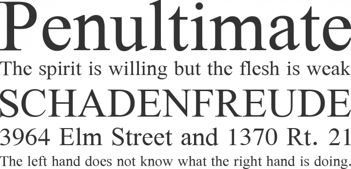 Galatia SIL Font Phrases