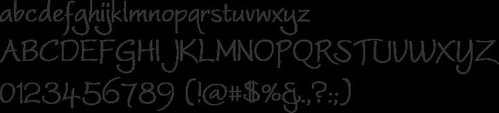 Worstveld Sling Font Specimen