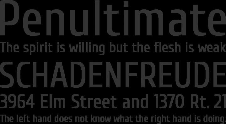 Cuprum Font Phrases