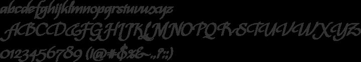 Bispo Font Specimen