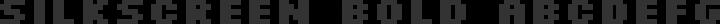Silkscreen Bold free font