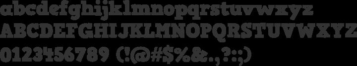HVD Comic Serif Pro Font Specimen