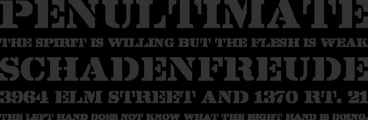 Lintsec Font Phrases