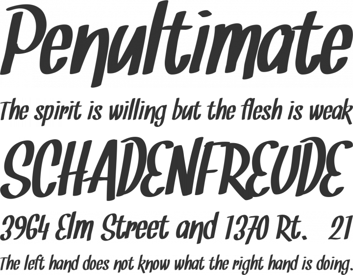 Free Font Snickles by Tup Wanders | Font Squirrel