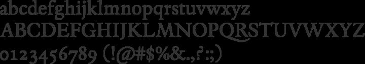 Espinosa Nova Font Specimen