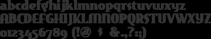 EastMarket Font Specimen