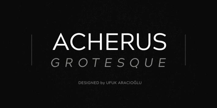 Acherus Grotesque Font Free by Horizon Type » Font Squirrel